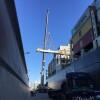 Desmontaje de viga de buque